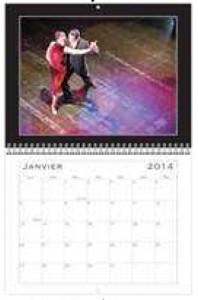 calendrier mural Tango