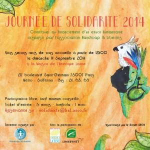 Journée de Solidarité à la Maison de l'Amérique Latine @ Maison de l'Amérique Latine | Paris | Île-de-France | France