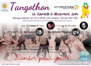 Tangothon 2014! la milonga solidaire @ Le Beffroi | Montrouge | Île-de-France | France