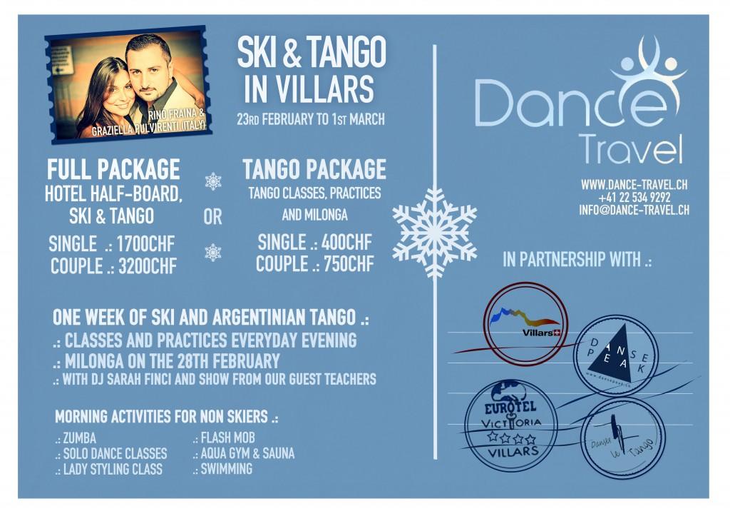 Ski et Tango 2015