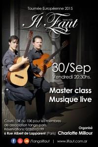 Stage Tango Paris