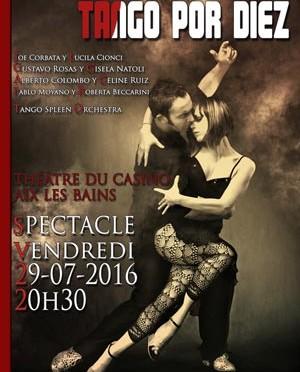 Les spectacles Tango sur toute la France