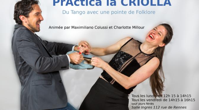 Lundi 28 mai – Signature de livres Tango à la Pratique