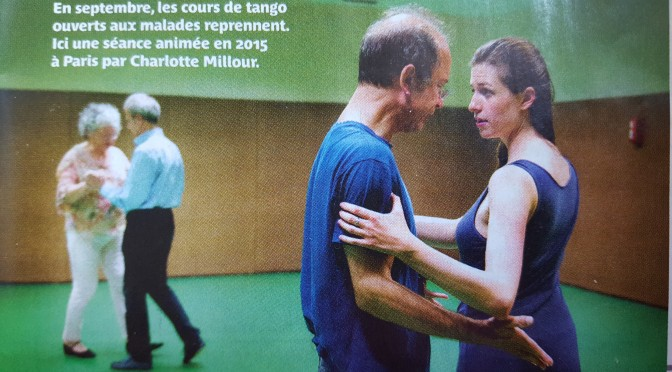 Reportage Tango et Parkinson pour Pèlerin Magazine