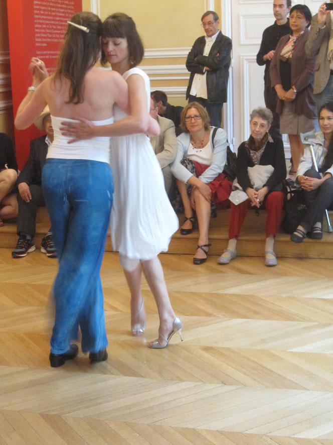 Démonstration de Tango