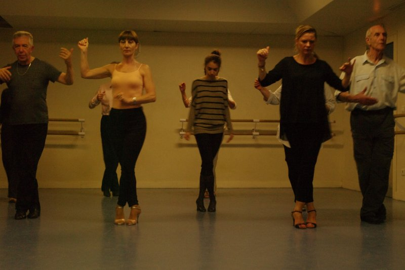 Stage avec Fernanda Japas et Alberto Sendra, Danser le Tango