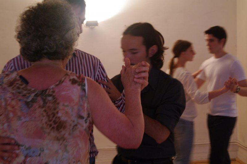 Stage de Valse avec Emilia Bassin et Juan Pablo Valdebenito, Juin 2013 à Paris