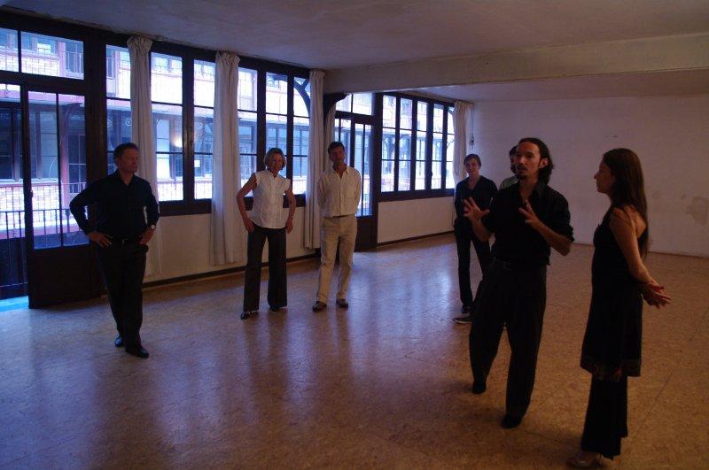 Stage de Valse avec Emilia Bassin et Juan Pablo Valdebenito