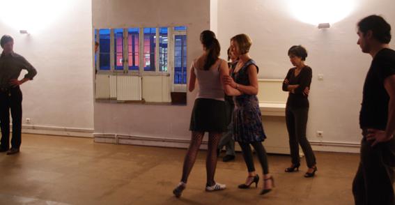 Stage de Tango à Paris, janvier 2013