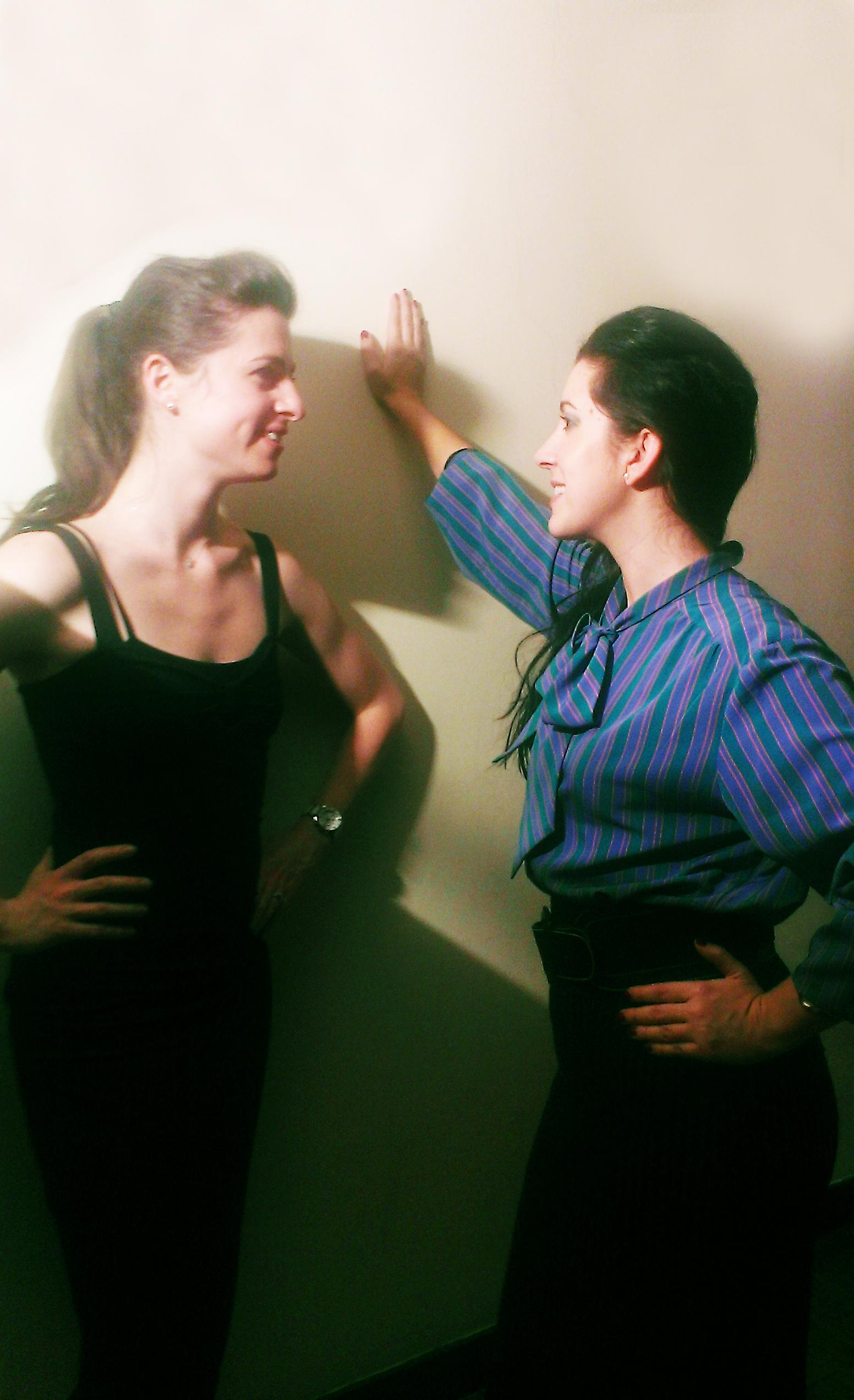 Ana Karina Rossi et Charlotte Millour