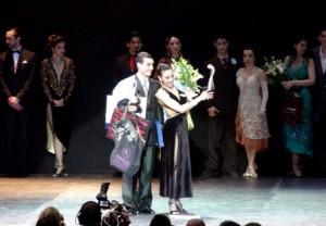 Champions du Mondial Tango de Scène 2013