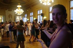 Bal Tango à la Mairie du 6ème, Juillet 2013 à Paris organisée par Charlotte Millour