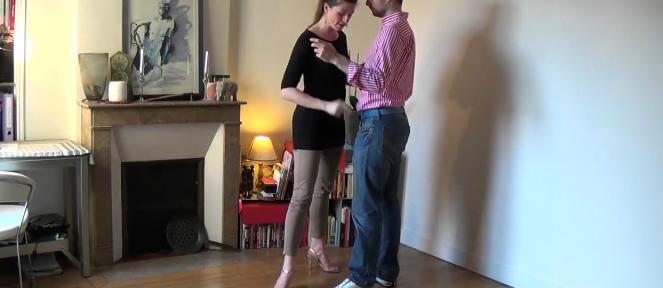 cours de tango en ligne