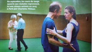 Cours de Tango Argentin - Débutant et Handicap physique @ Centre André Malraux - salle Molière  | Paris | Île-de-France | France