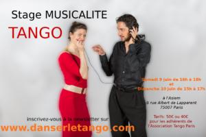 Stages Tango Argentin: musicalité @ Asiem - Salle 2016 | Paris | Île-de-France | France