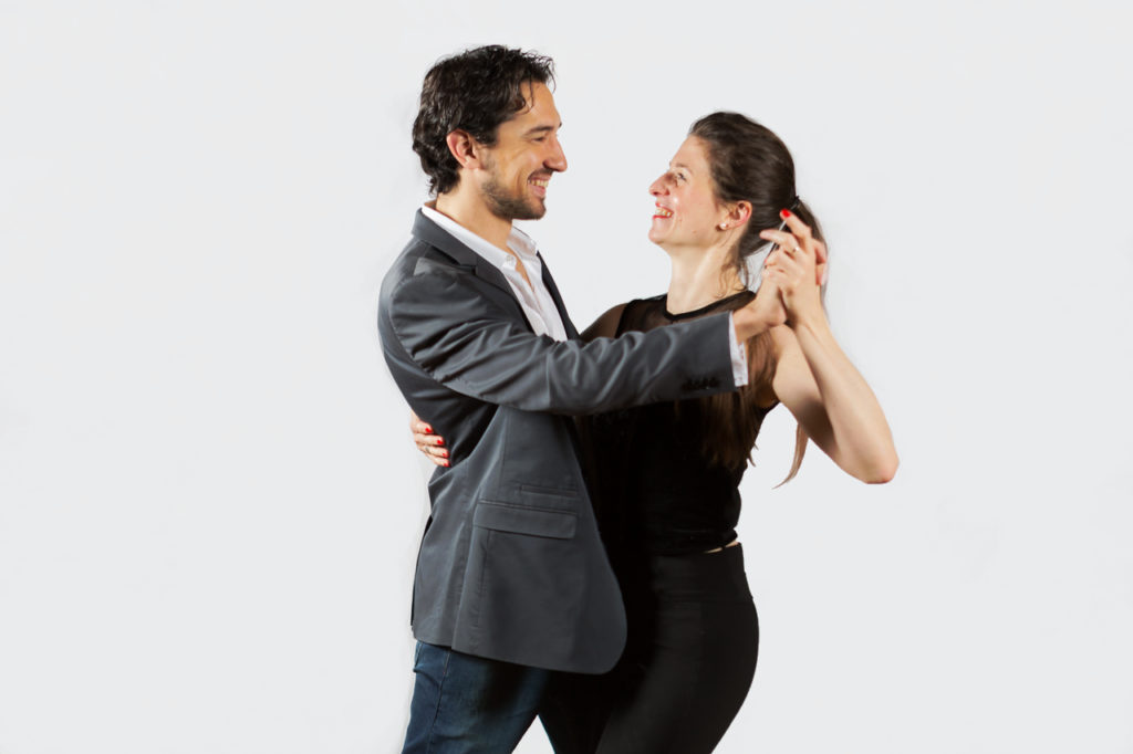 Tango avec Charlotte Millour et Maximiliano Colussi