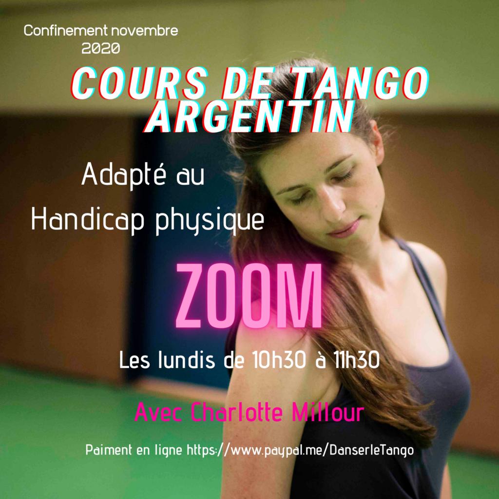 Confinement Tango hand Zoom